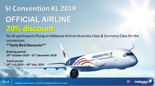 SI Convention Airline Discount