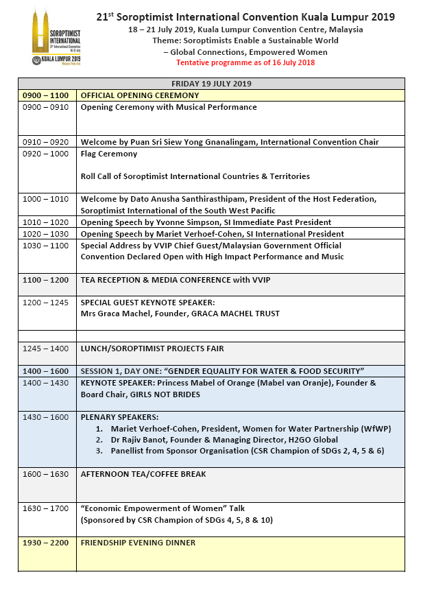 SI Convention KL 2019 Updated Programme p1