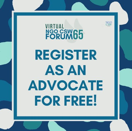CSW65 advocate register for free