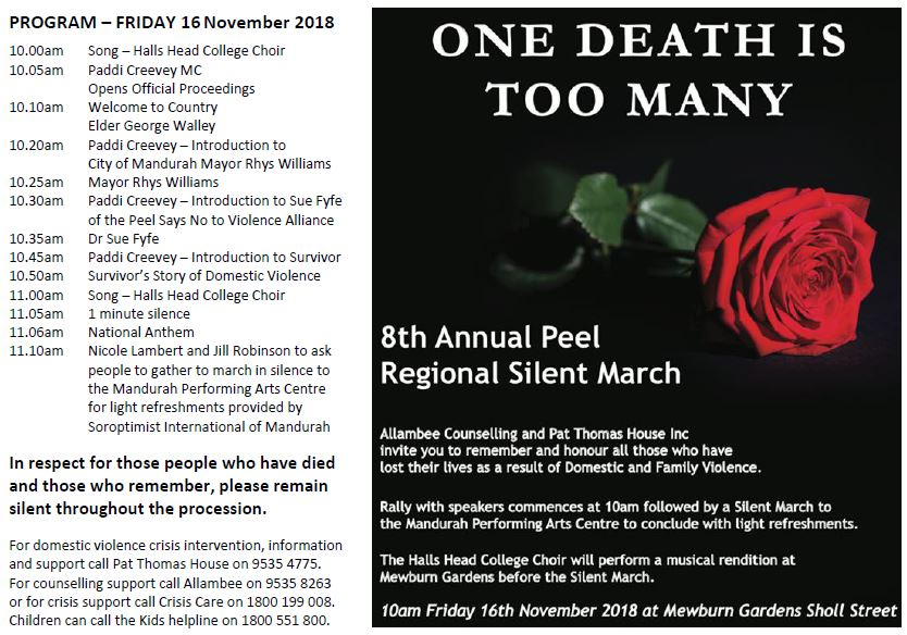 Peel Silent March