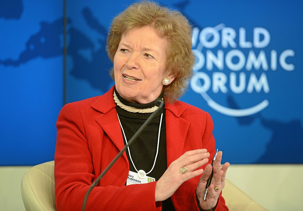 SI Convention 2019 Speaker Mary Robinson