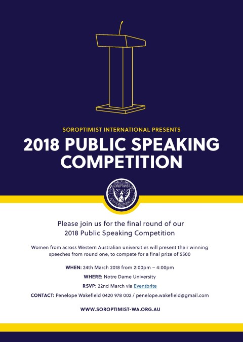 Public Speaking Competition Grand Final Small