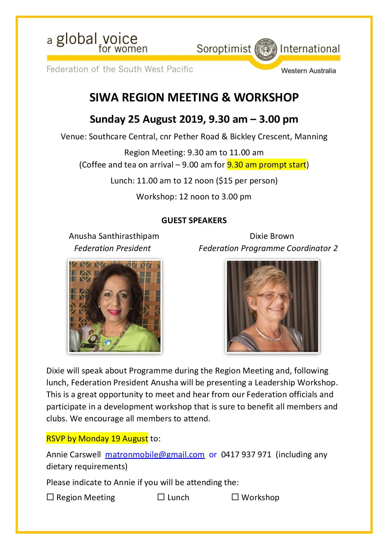 Flyer SIWA Region Meeting 25 August 2019 page 001